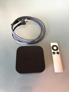 Apple Tv 3 - En Perfecto Estado Con Accesorios