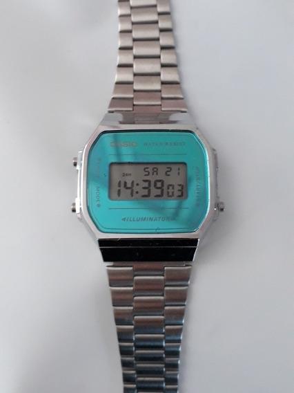 Relógio Casio Prata Vintage Unissex Original Edição Limitada