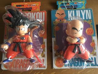 Goku Krillin Figuras Banpresto Pvc Dragon Ball Goku Báculo