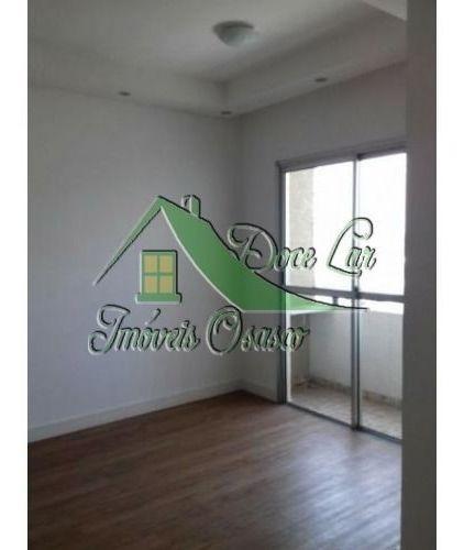 Lindo Apartamento Residencial Solar Dos Pinheiros, Próximo A Estação. Osasco
