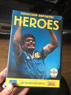 Dvd Héroes Mundial 86 Original De Colección