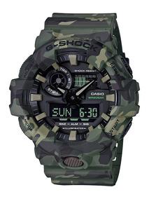 Relógio Casio G Shock Ga700cm-3adr. 200 Metros 100% Original
