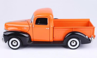 Auto Escala Ford Pickup 1940 1:18 Motormax (no Envios)