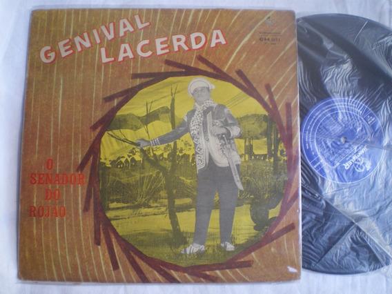 Lp - Genival Lacerda / O Senador Do Rojão / Chantecler /1968
