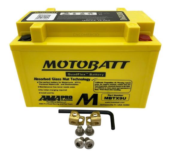 Bateria Agm Motobatt Mbtx9u Bmw S1000 Rr Dwa 2009-2013