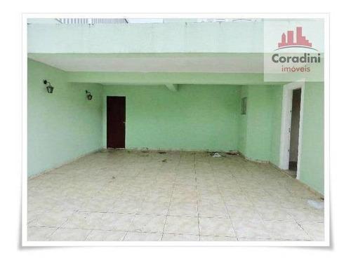 Imagem 1 de 20 de Casa Com 3 Dormitórios À Venda, 220 M² Por R$ 510.000 - Vila Azenha - Nova Odessa/sp - Ca0683