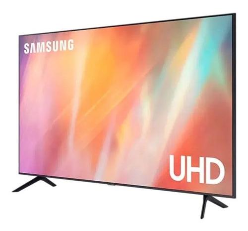 Imagen 1 de 3 de Tv Samsung 55  4k Uhd 55au7000