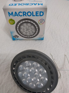 Lampara Led Ar111 220v 11w Macroled Color Gris