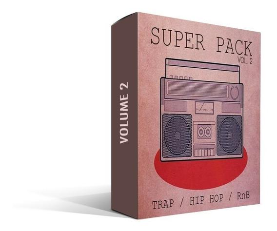 Super Pack De Loops , Samples, Trap / Hip Hop Vol. 2 (+30gb)