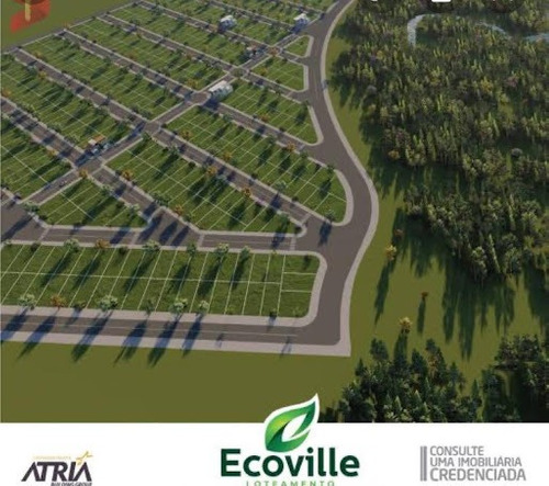 Terreno No Loteamento Ecoville - Te1527