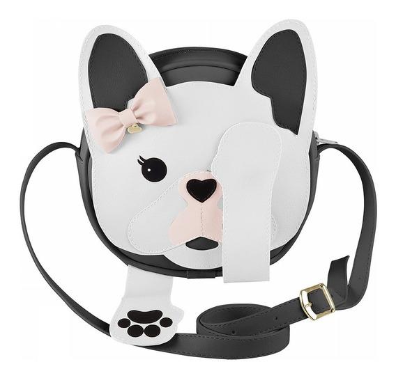 Pampili Bolsa Lateral Infantil Menina Dog Com Imã Verão 2020
