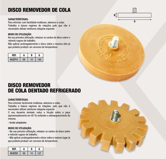 Discos Removedores De Adesivos, Colas E Emblemas - Jogo