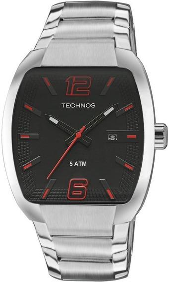 Relógio Technos Masculino Performance Racer Prata 2115kli/1p
