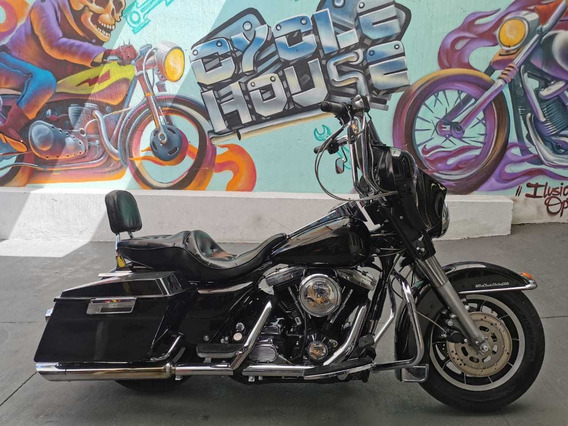Harley Davidson Electraglide 1340 94 Titulo Limpio Checala!!