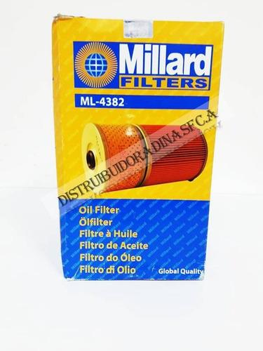 Filtro De Aceite Millard Ml4382 Mitsubishi Fk615