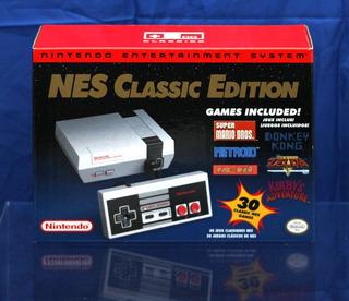 Nes Classic Edition Nintendo 30 Jogos Lacrado Novo Envio Já