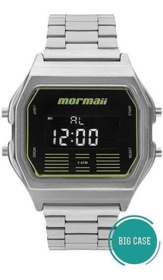 Relógio Mormaii Vintage Masculino Barato Mobj3715b/k3p + Nf