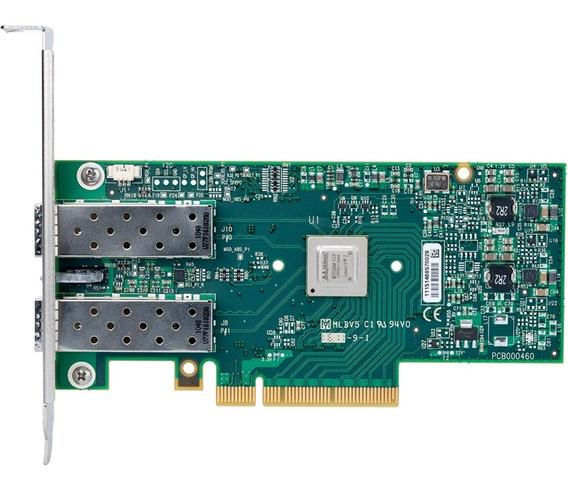 Placa De Red Dual Sfp+ 10gbe Mellanox Mcx312b-xcct P/ Qnap