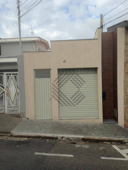 Salão Para Alugar, 113 M² Por R$ 1.300/mês - Vila Independência - Sorocaba/sp - Sl0457