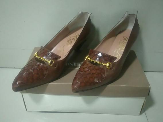 Zapatos De Cuero - Talle 37