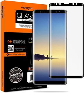 Vidrio Templado Spigen Note 8 Full Cover Tr Case Friendly