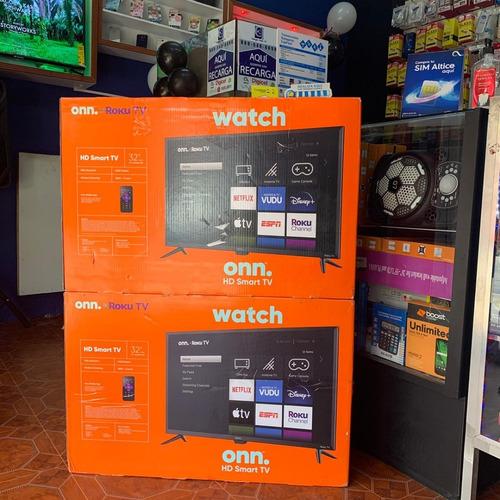 Imagen 1 de 1 de Smart Tv Onn 55 PuLG 4k Ultra Hd