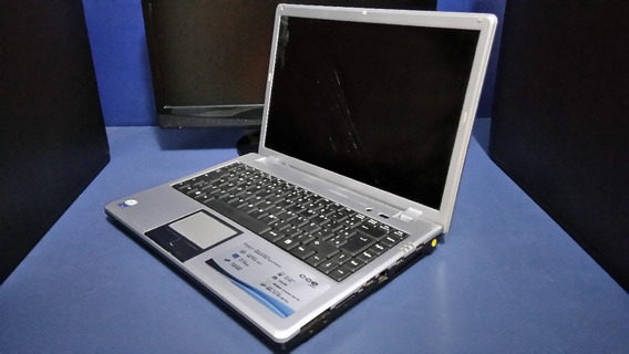 Notebook Cce Info Levp-d10h120 - Defeito Na Placa Mãe E Tela