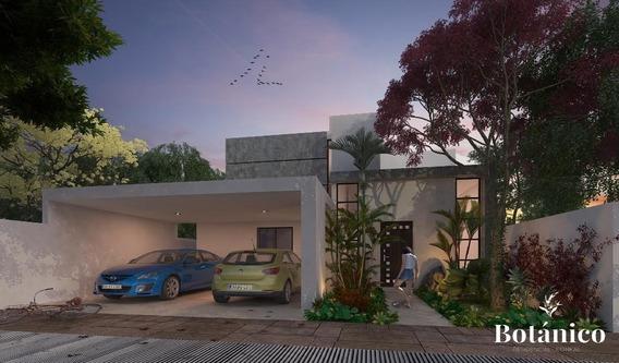 Casa En Venta,en Privada Botanico,nuevo Clouster Conkal,mérida,yucatán