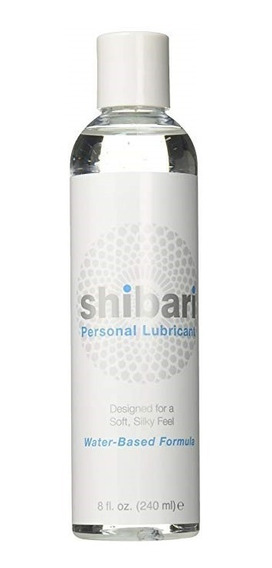 Lubricante Organico Solamente Base Agua Shibari Original