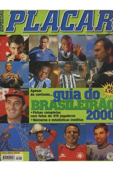 Revista Placar Guia Do Brasileirão 2000