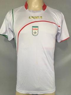 Camisa Irã #16 De Jogo Utilizada Em Amistoso X Brasil 2010