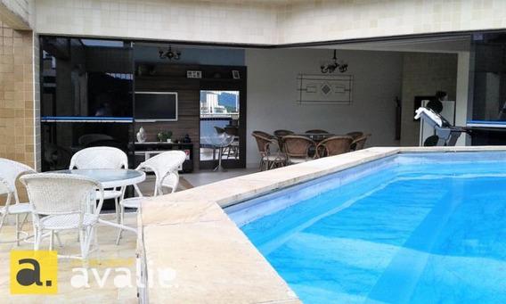 Cobertura Duplex Com Piscina E Ampla Área De Festas Privativas Em Transversal Da Alameda - 6000532v
