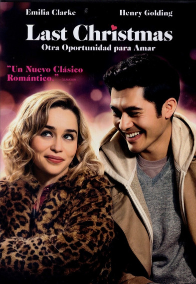 Last Christmas Emilia Clarke Pelicula Dvd