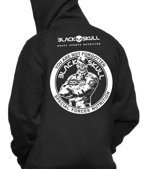 Moletom Black Skull Tropa De Elite Bope A Melhor Do Mercado