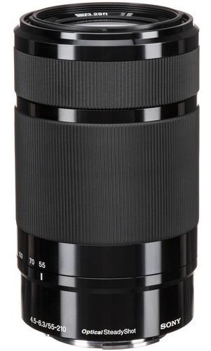 Lente Sony E 55-210mm F/4.5-6.3 Oss - Sel55210 - Lj Platinum