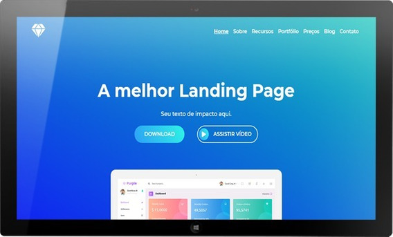 Site - Template Html Pro - Site Pronto - Landing Page
