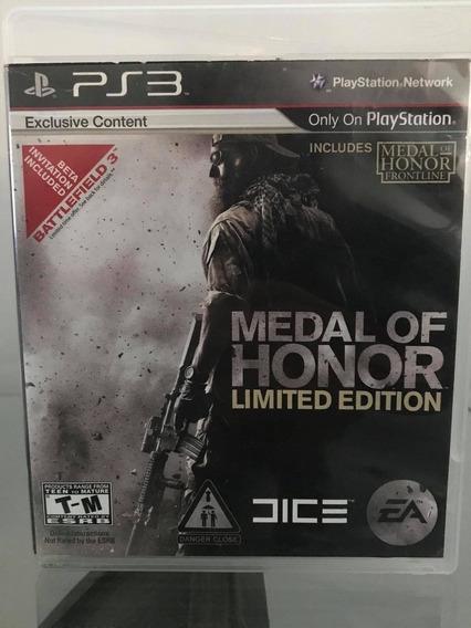 Jogo Medal Of Honor 2010 Ps3 Play 3 Edição Limitada