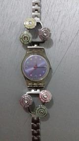 Lindo Relógio Swatch Swiss Feminino