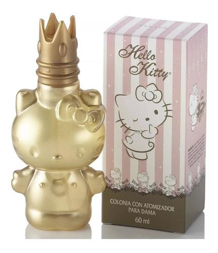 Imagen 1 de 4 de Perfume Hello Kitty Edición Especial Dorada 60ml By Sanrio