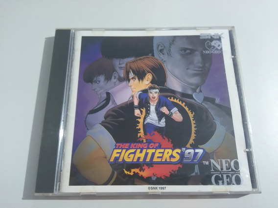 The King Of Fighters 97 Neo Geo Cd Original Completo!