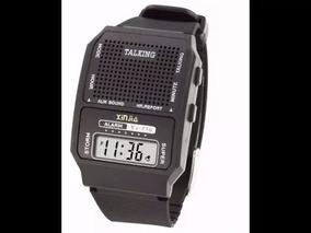Relógio Fala Hora Ideal P/ Idoso E Def Visual Emb, Lacrada
