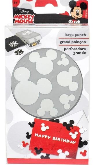 Perforadora Papel Mickey Mouse 6 Tamaños Disney Troquel Cort