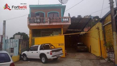 Casa  Residencial À Venda, Companhia Fazenda Belém, Franco Da Rocha. - Ca0012