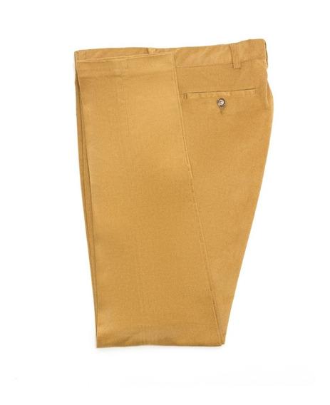 Pantalón Entallado De Corderoy Elastizado De Hombre Jitpants