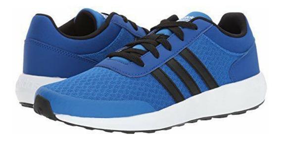 Tênis adidas Cf Race K Meninos Azul Bc0065 Original