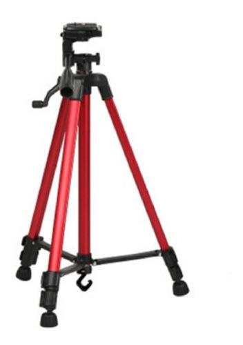 Trípode Profesional Panoramico Videocámara 1.40mt + Bolso
