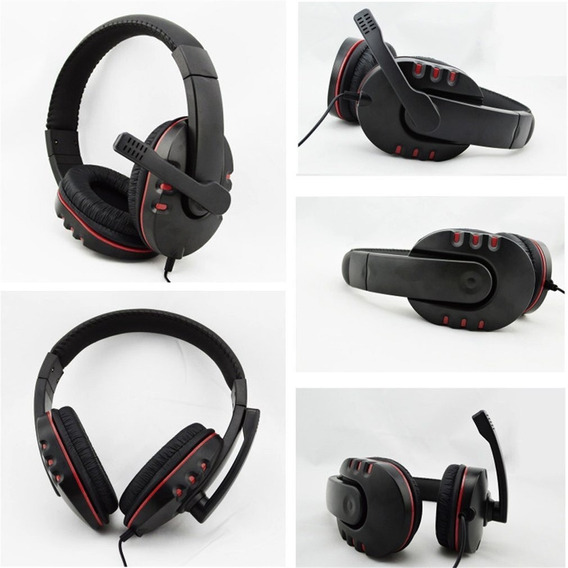 Com Fio Original 3.5mm Plugue Gaming Fone Headphone Fone De