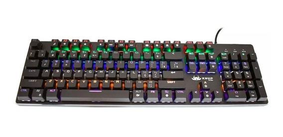 Teclado Mecânico Gamer Para Computador Knup
