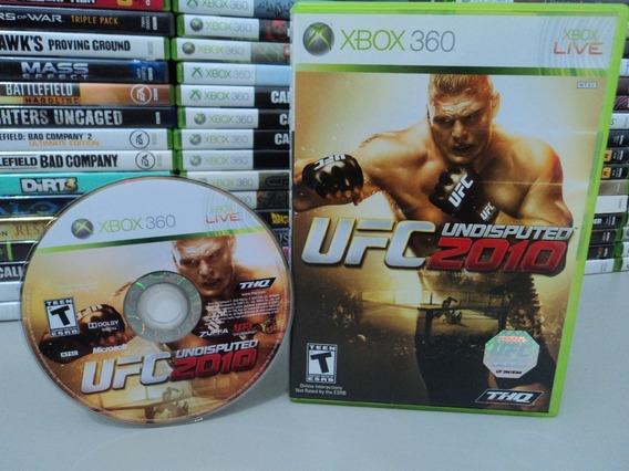 Ufc Undisputed 2010 Xbox 360 Jogo Original