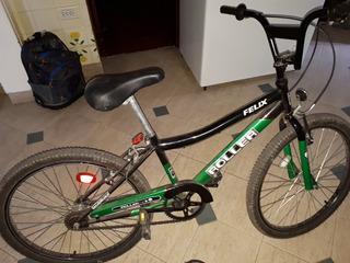 Bicicleta R24 Casi Nueva Tipo Bmx Roller